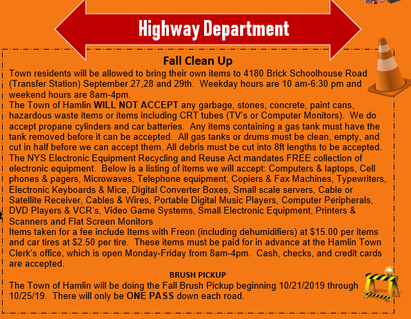 highway cleanup 2019